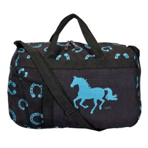 Blue Horseshoes Duffle bag