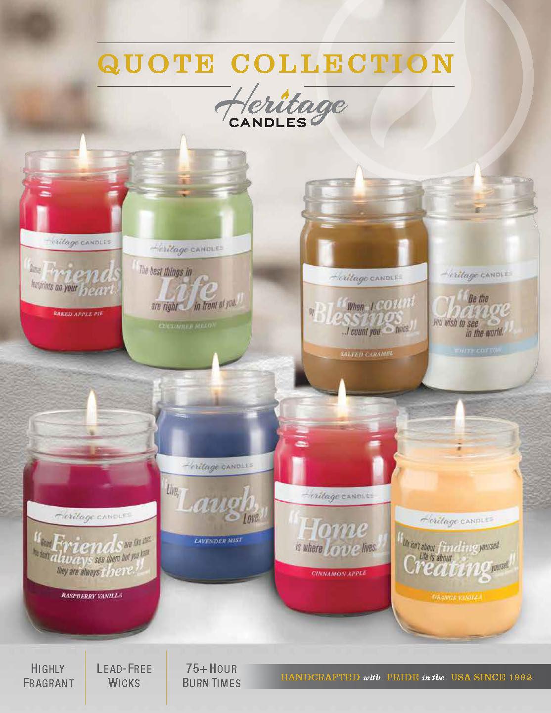 Heritage Candle Catalog | NW Fundraising