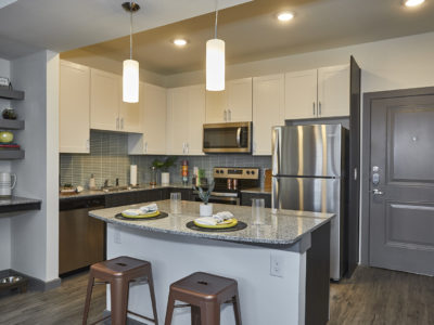 848 Mitchell - Stainless steal appliances, plank flooring, white ceramic backsplash tile, and more make this an adequate mix of modern and class