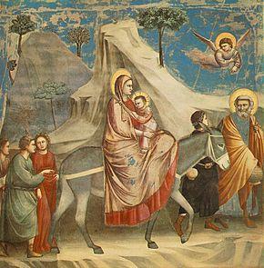 290px-Giotto_-_Scrovegni_-_-20-_-_Flight_into_Egypt