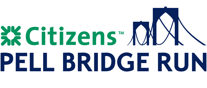A 4-mile charity run and walk across the historic Newport Pell Bridge on October 20, 2019