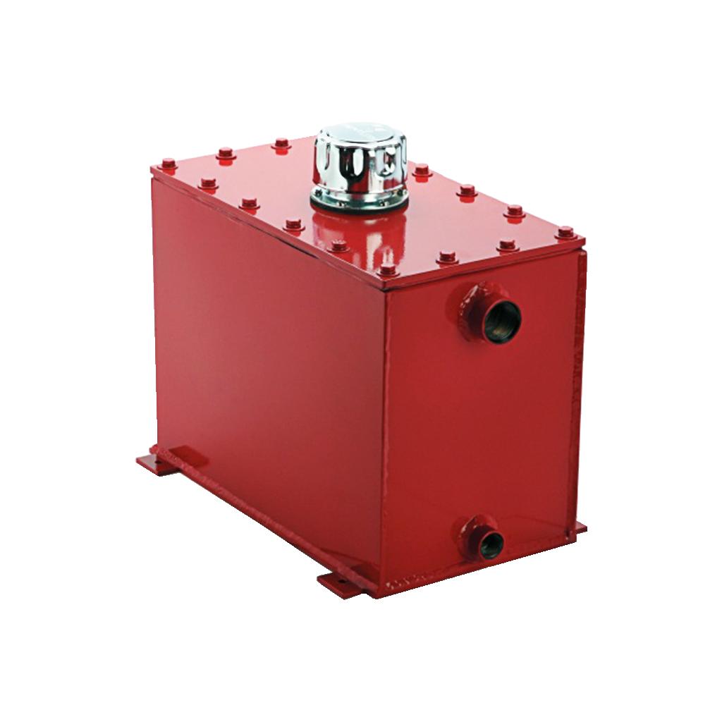 hydraulic starter components reservoir