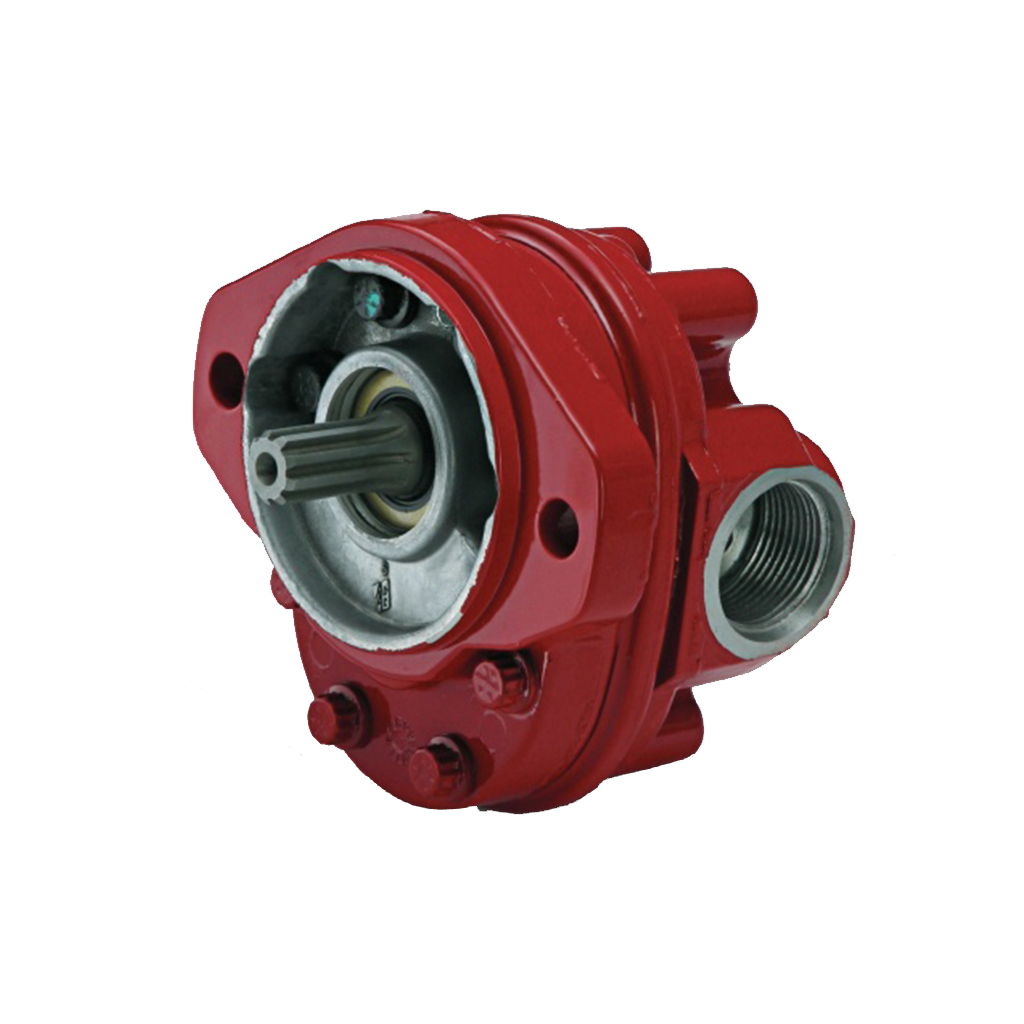hydraulic starter components re-charge hydraulic pump
