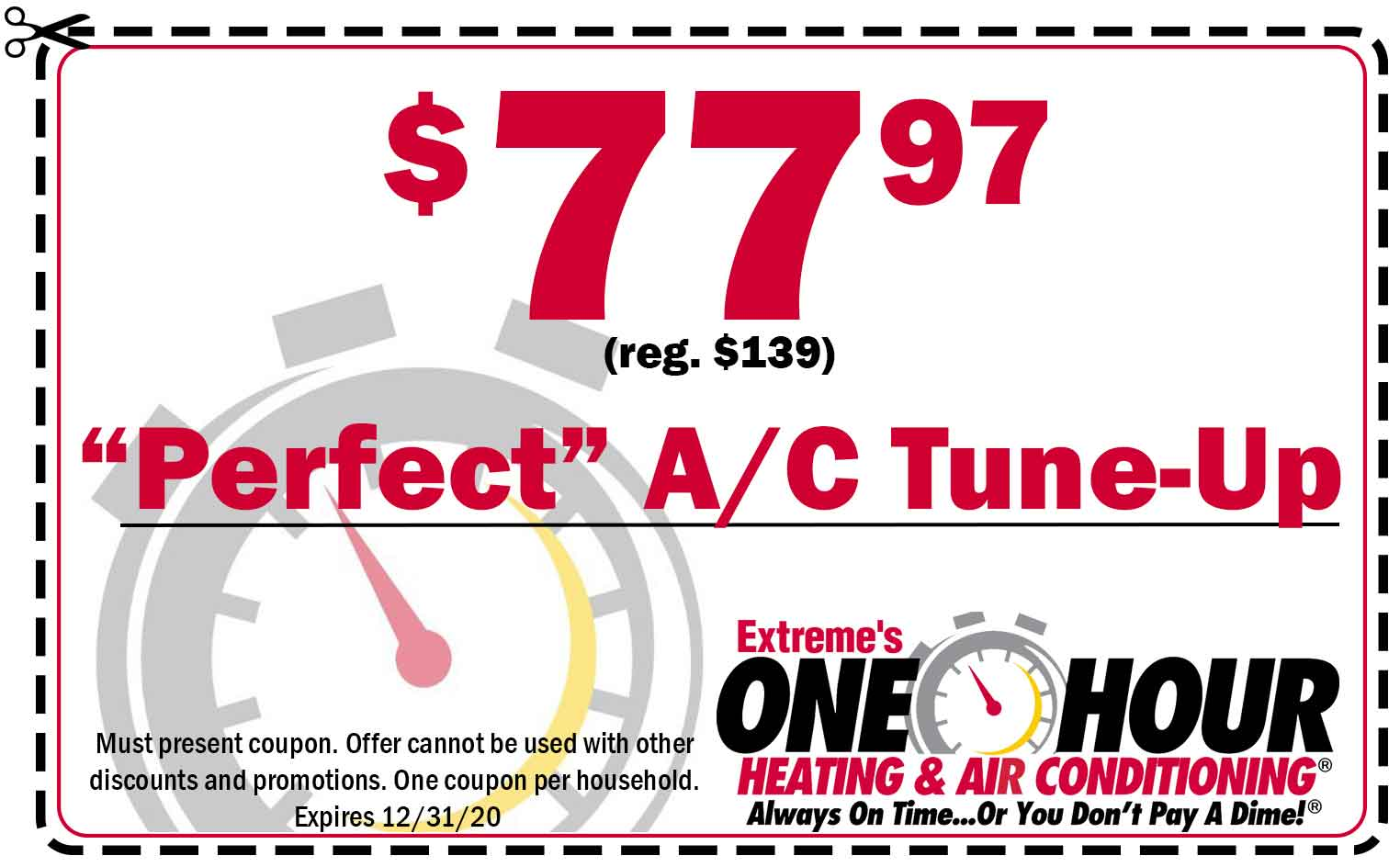 air conditioning tune-up coupon in Dayton, OH