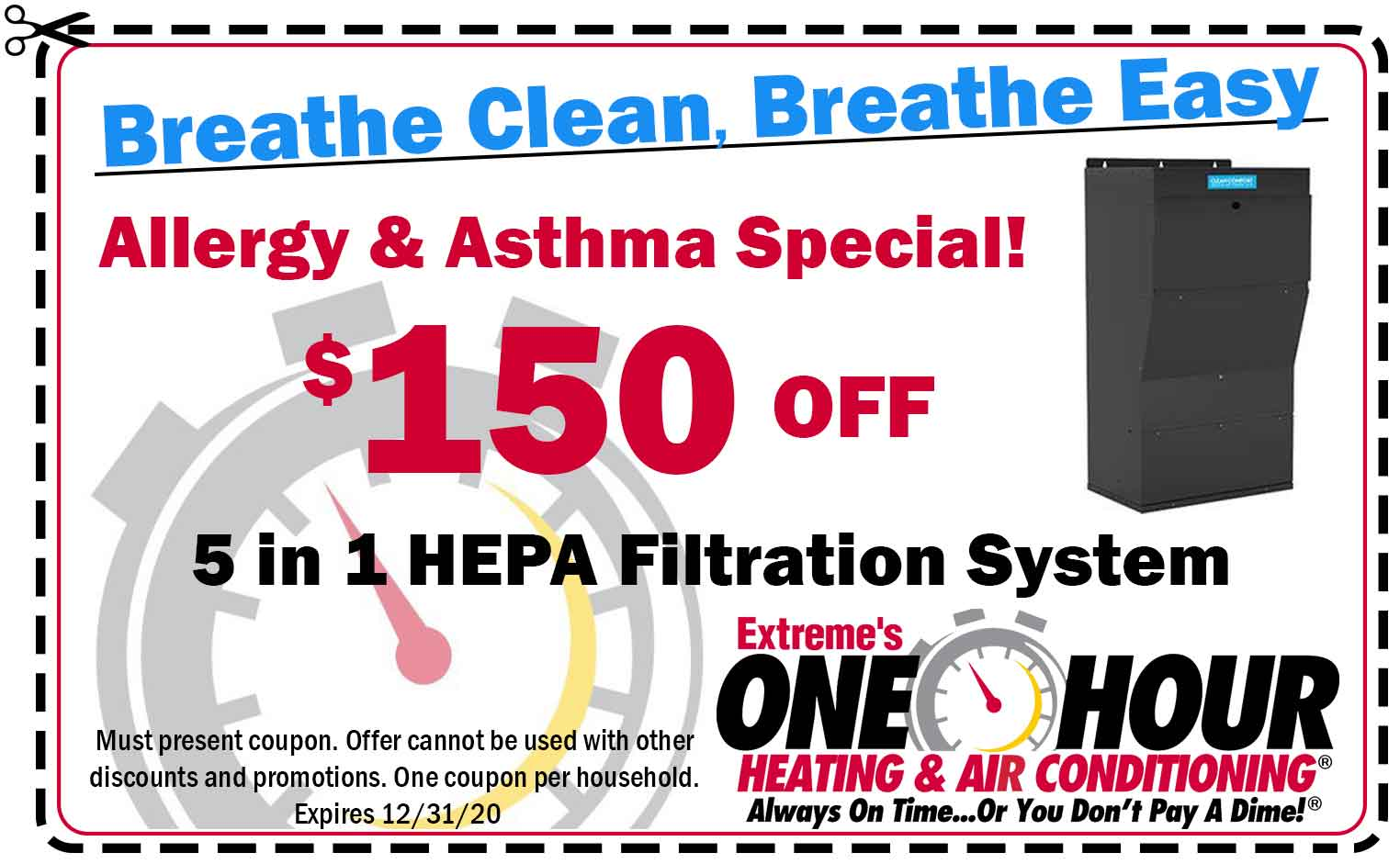 Filtration System Coupon in Dayton, Ohio