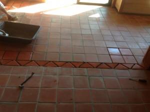 terracota saltillo staining
