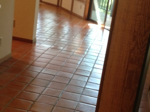 clean mexican pavers