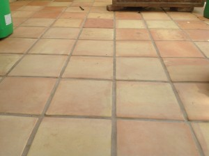 outside exterior mexican pavers