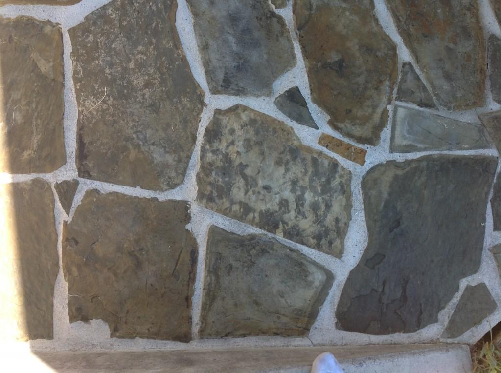 multicolored assorted slate tile