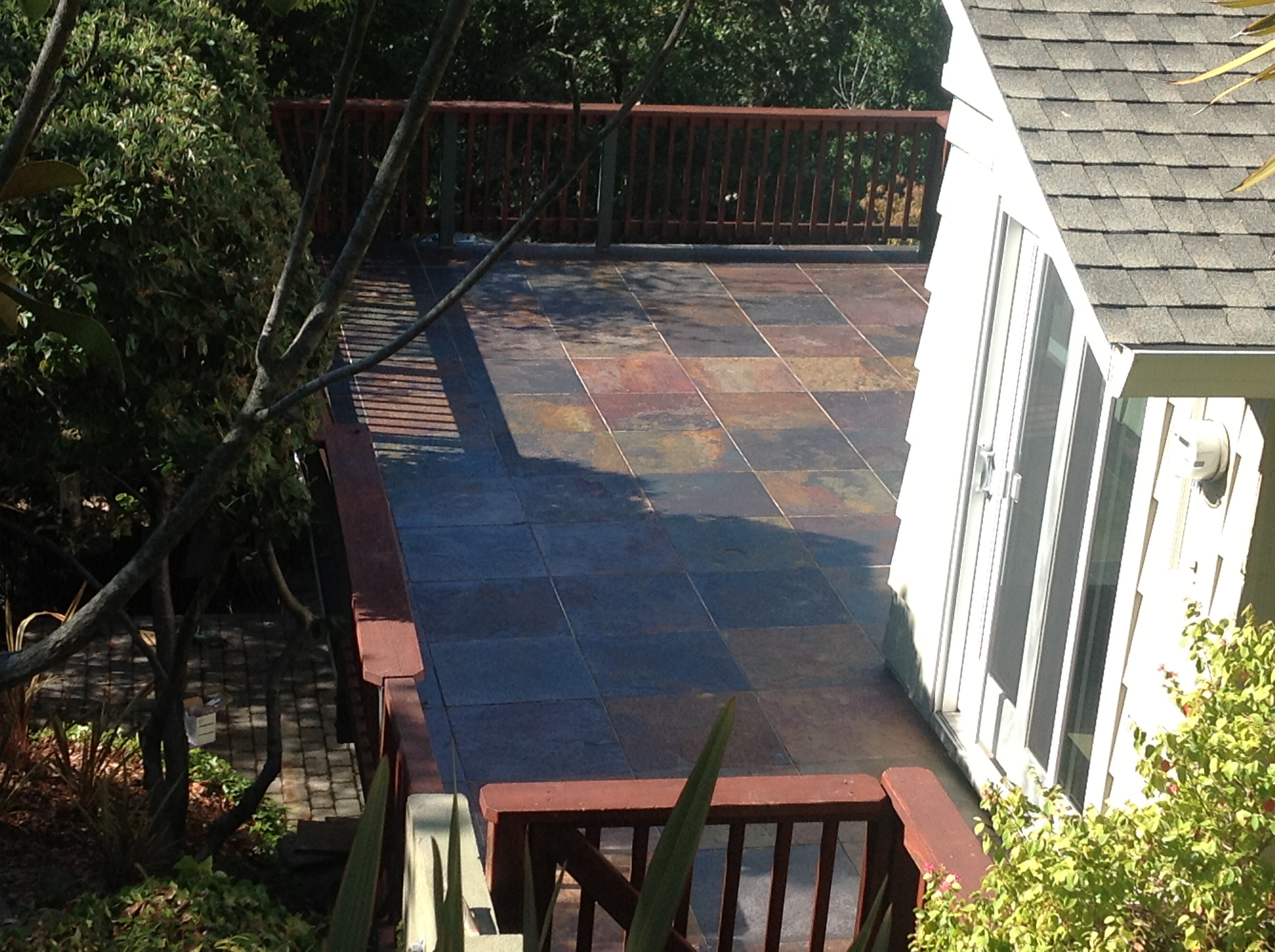 Want More Out Of Your Slate Tile Patio?
