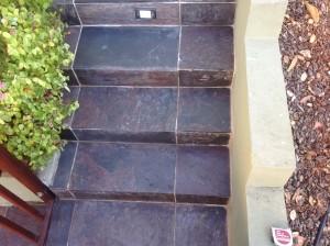 sealed slate steps