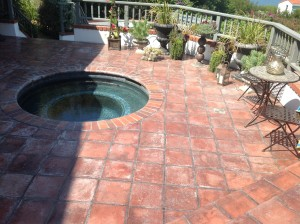 mexican tile needs stripping