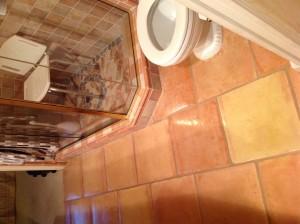 saltillo bathroom sealed