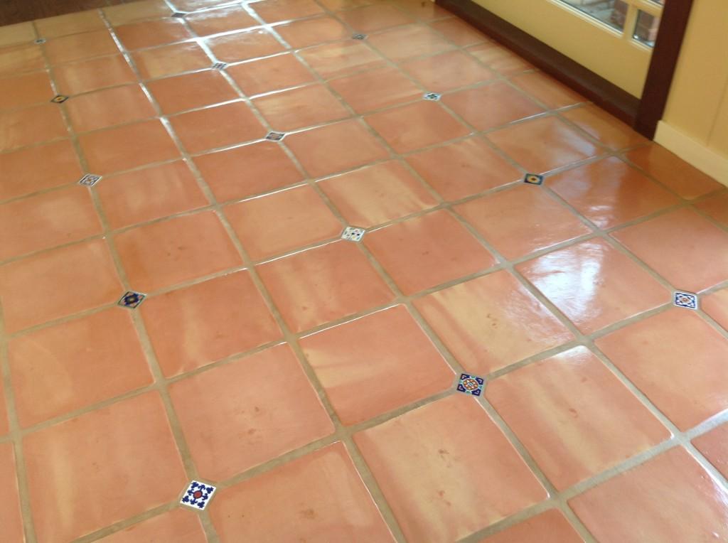 restored saltillo floor