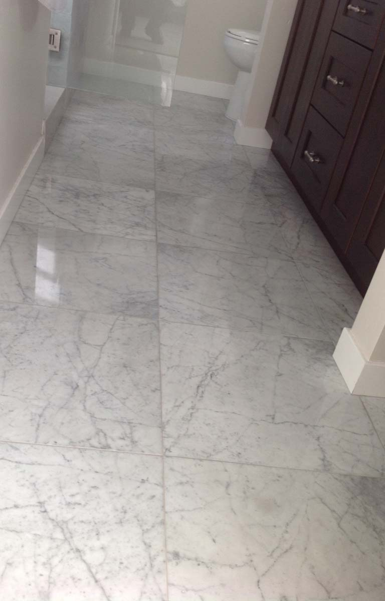 Bathroom Tiles Deep Cleaned and Professionally Refinished