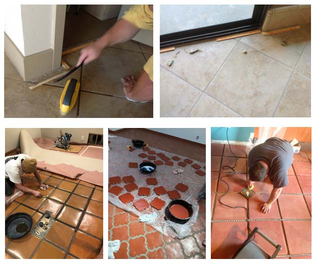 Paver Tile Installations