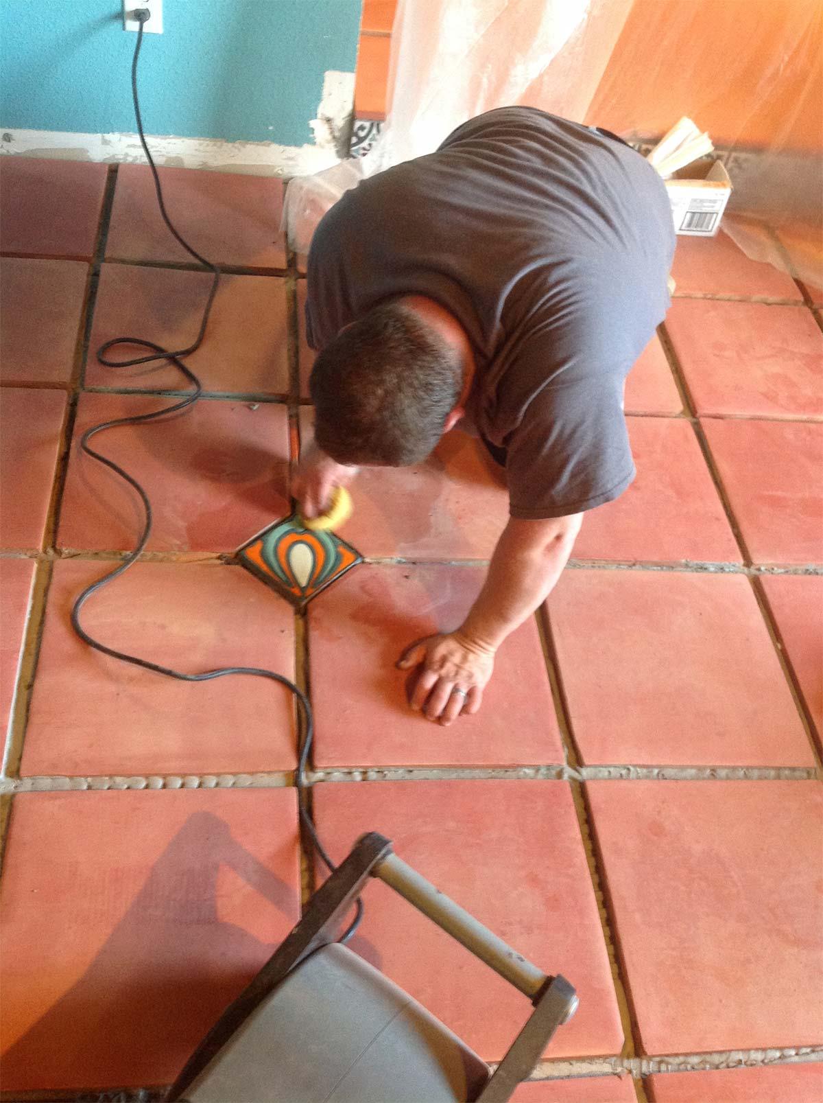 Saltillo Terra Cotta Sealing & Polishing