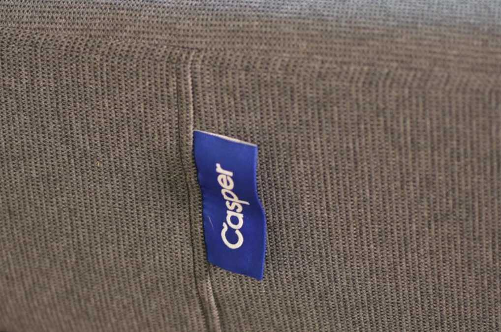 Casper tag is on both sides of the mattress