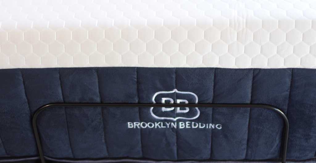 Brooklyn Bedding Aurora from the Front