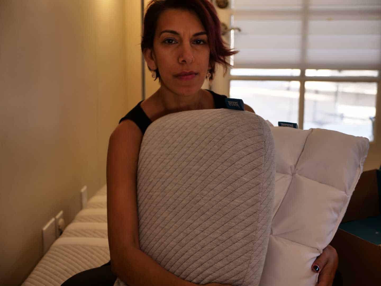 Leesa Pillow and the new leesa hybrid pillow