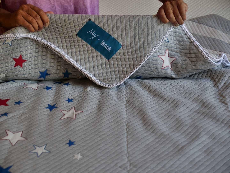 Aly Raisman blanket by Leesa