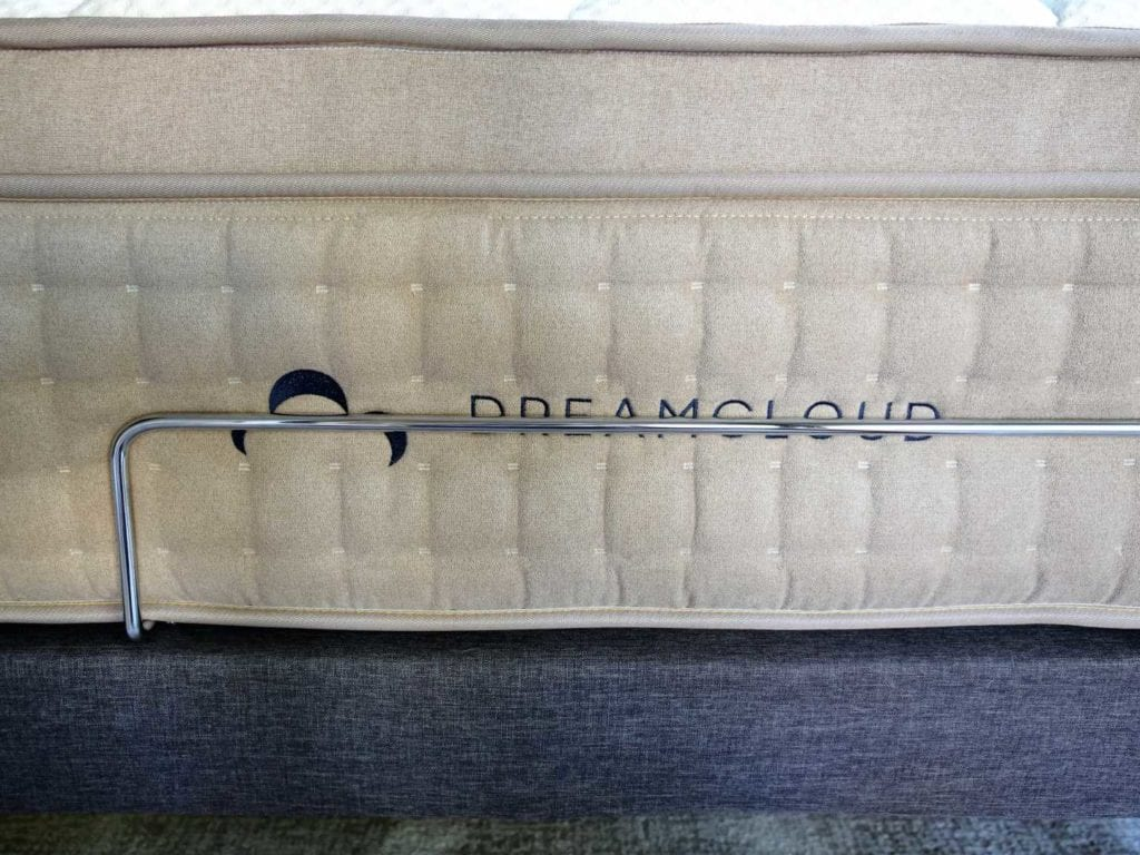 dreamcloud adjustable frame and dreamcloud mattress