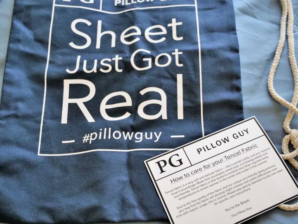 Pillow guy travel bag