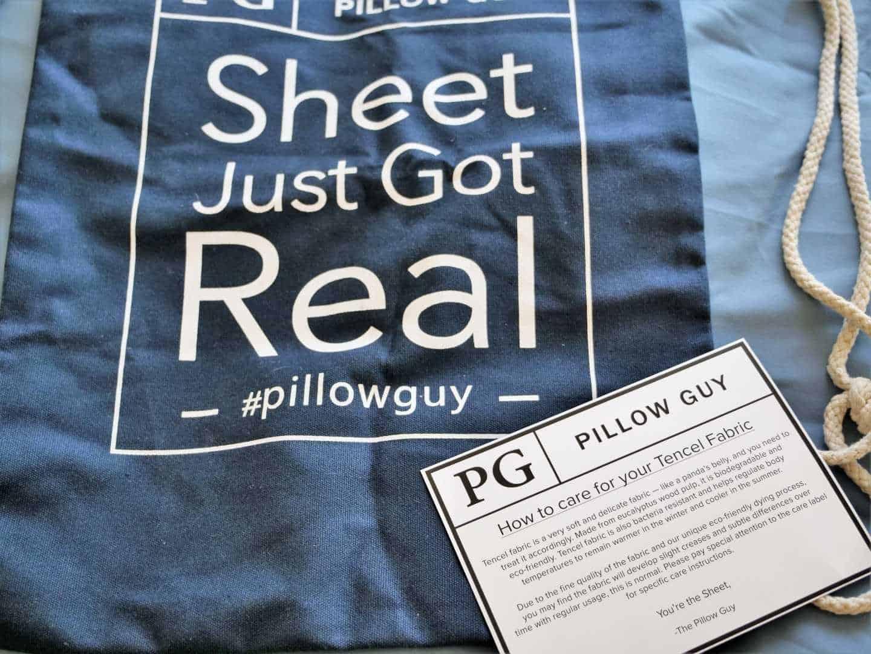 Pillow guy travel bag