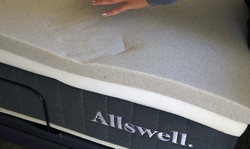 allswell mattress top layer