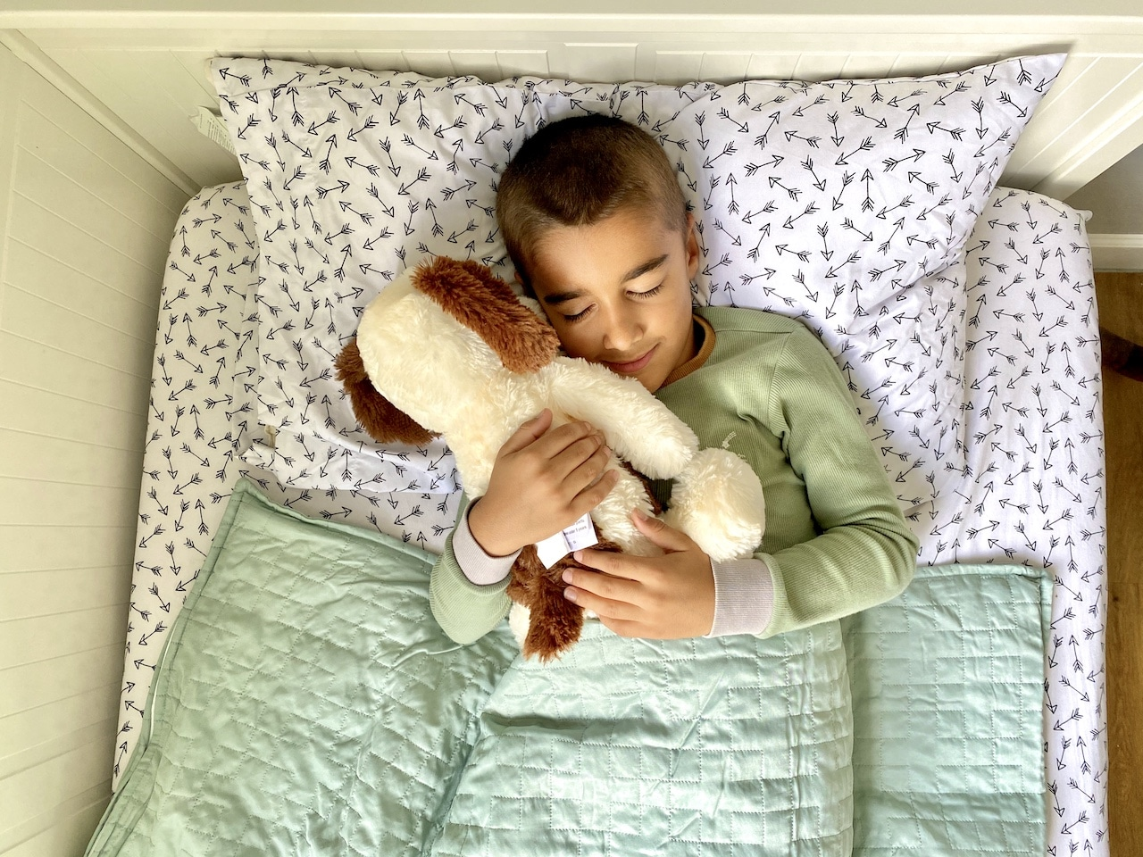Gravity Kids Weighted Blanket comes with a weighted plush