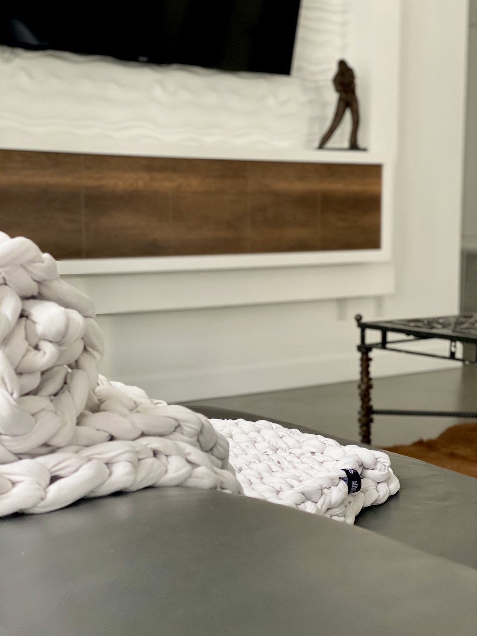 Silk & Snow Knit Handwoven Weighted Blanket Review