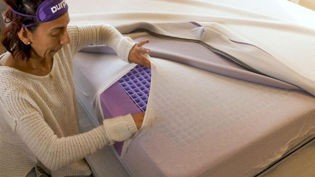 inside the purple mattress 2020