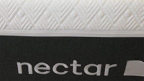 front of nectar lush mattress