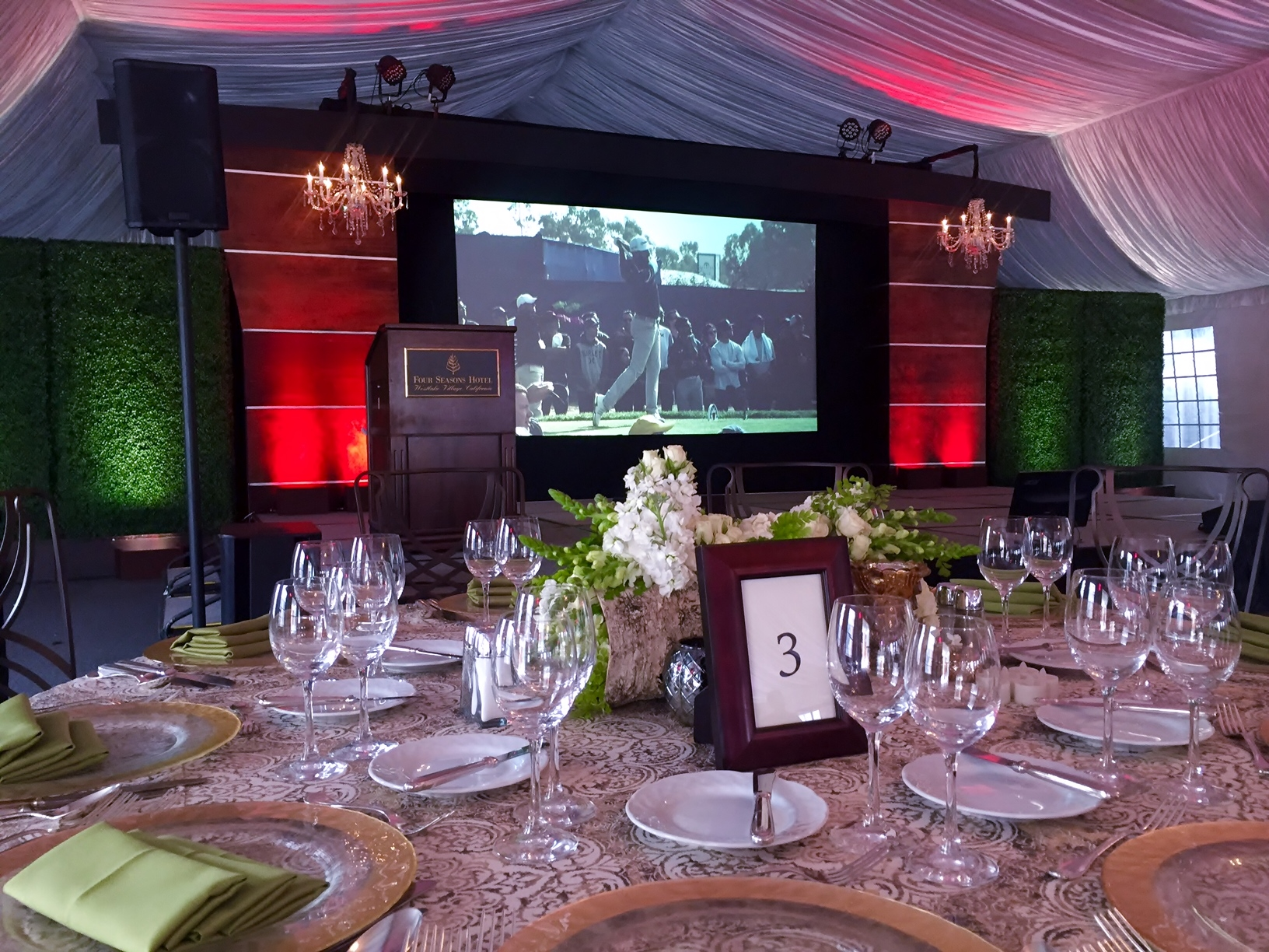 Custom Stage Design by AOO Events