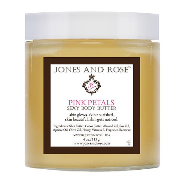 Jones and Rose Pink Petals Sexy Body Butter
