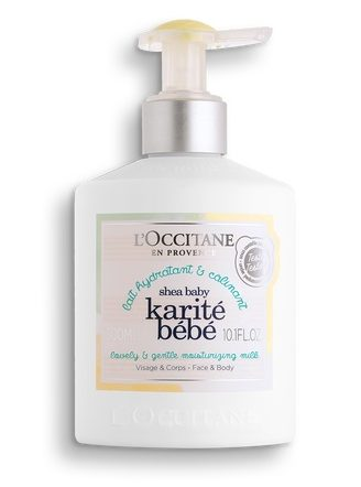 L'Occitane Shea Baby Lovely & Gentle Moisturizing Mil