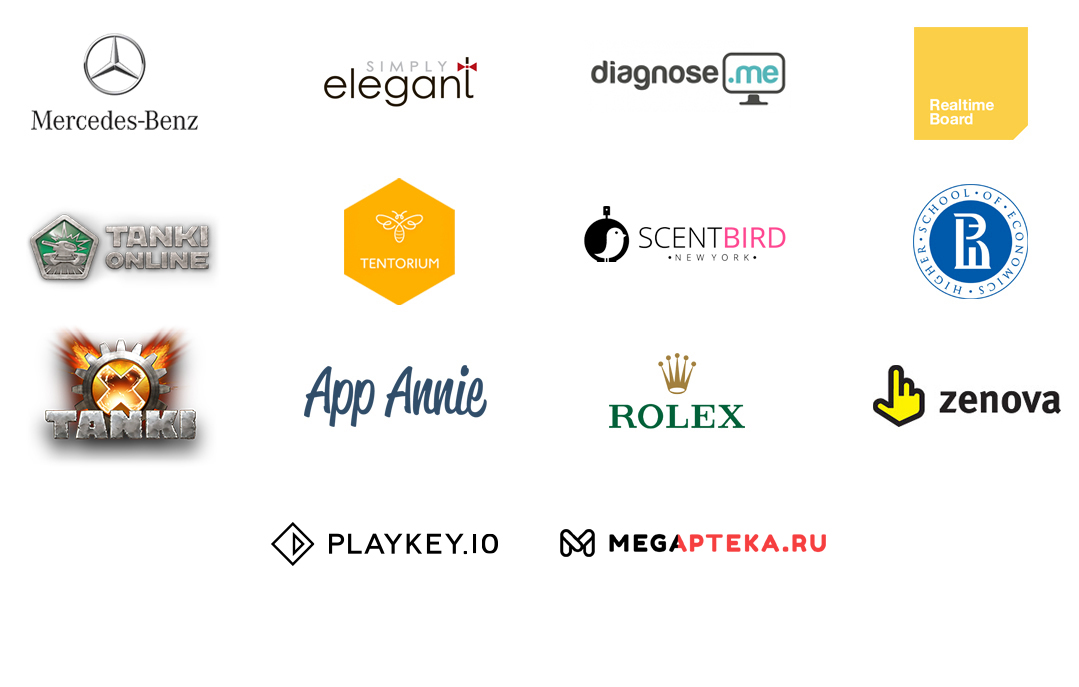 Some of the coolest companies I worked with