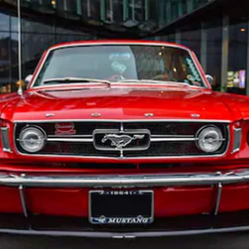 1964 Mustang Car Paint Colors