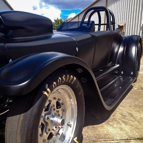 black car paint