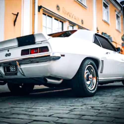 Classic Camaro Auto Paint Colors