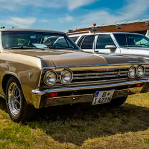 Classic Chevelle Auto Paint Colors