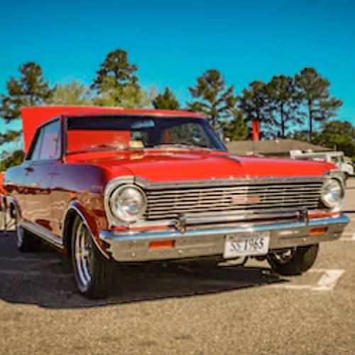 Classic Nova Auto Paint Colors