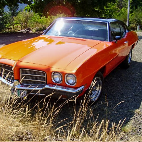 Orange Car Paint Colors