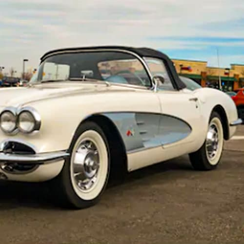 '53 to '77 Chevrolet Corvette car paint colors