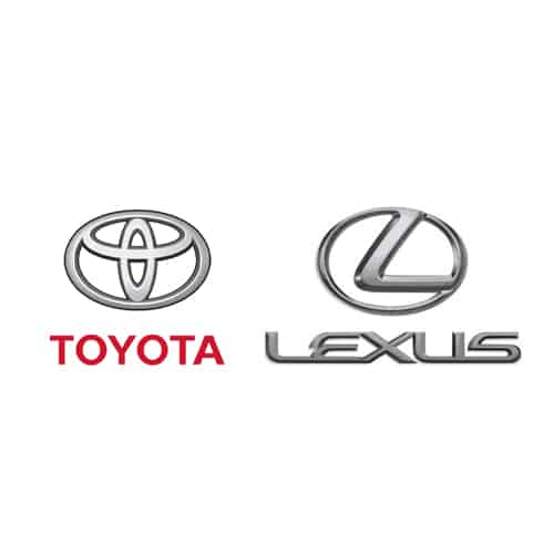 Toyota & Lexus Paint Colors