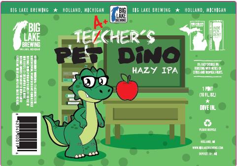Teacher's Pet Dino Beer