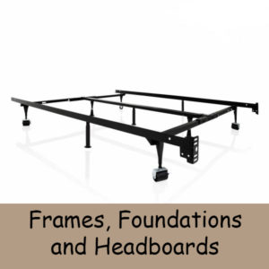 Frames, Foundations & Headboards