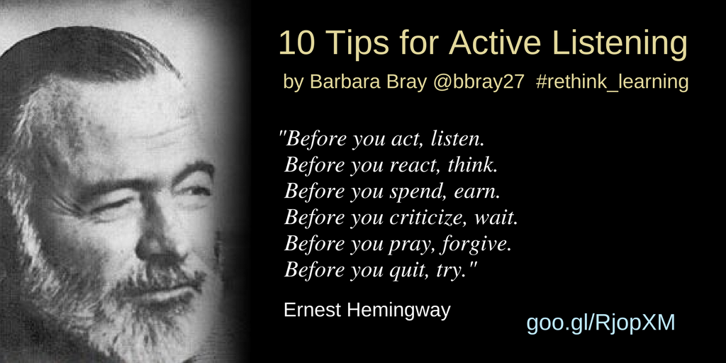 10 Tips for Active Listening