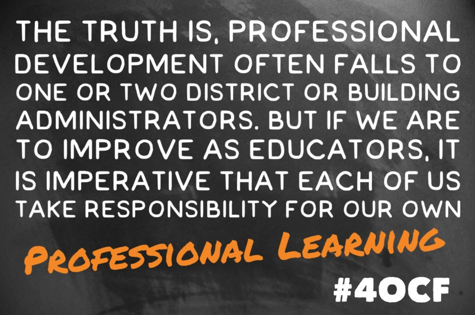 Professional Learning #40CF