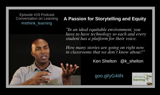 Passion for Storytelling with Ken Shelton